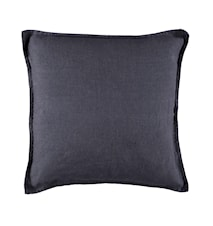 Kuddfodral linne 50x50cm - Blå