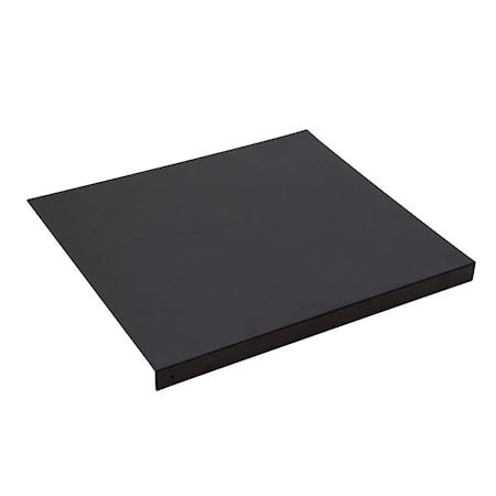 Tablett svart, 4-pack