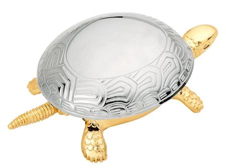 Ringklocka Sköldpadda Guld med kromat skal