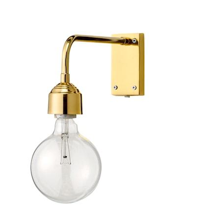 Bild av Bloomingville Vägglampa Guld Metall 13x27cm