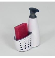 Sink Sider™ Diskmedelsflaska och svamphållare