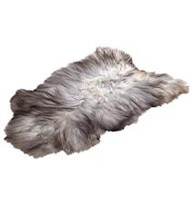 Geir Islandsk Pels ca 60x100 cm - Natural Grey