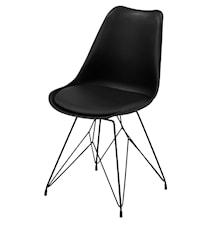 Eiffel stol svart metall