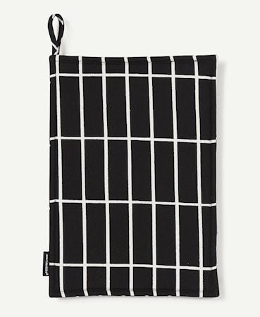 Marimekko Pieni Tiiliskivi Grytlapp Svart/Vit 26,5x18,5 cm