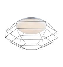 Nest Plafond Vit/Silver