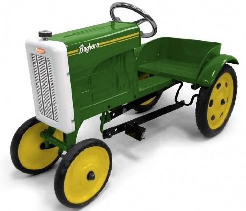 Traktor trampbil