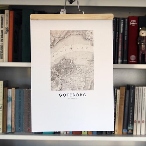 Göteborg Map poster