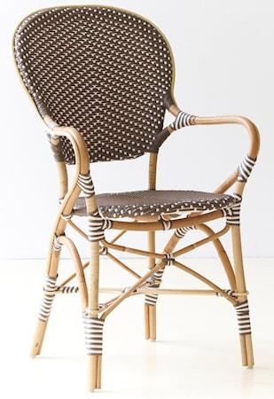 Sika Design Isabell karmstol - Brun
