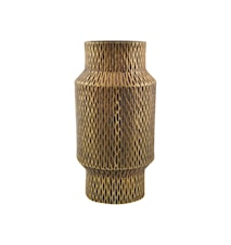 Vas Cast Ø 16 cm - Brun/guld