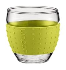 Pavina Glas med Silikon 10 cl 2 st Lime
