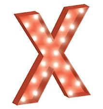 Cirkuslampan Stor - X