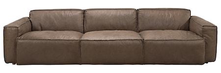 Buddy 4-sits soffa - Läder Sioux