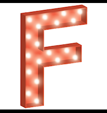 Cirkuslampan liten - F