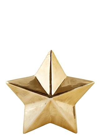 55ff6c96d55 Køb Figur - Stjerne - Keramik - Guld - Antik - H 3,0cm - L 12,0cm - B  12,0cm - Stk.