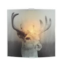 Deer Vägglampa Grå