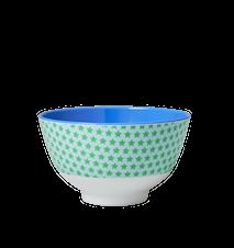 Melaminskål Liten Stjärna Blå/Grön Ø 11 cm