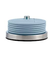 Glasunderlägg med hållare Ljusblå 9,9 cm