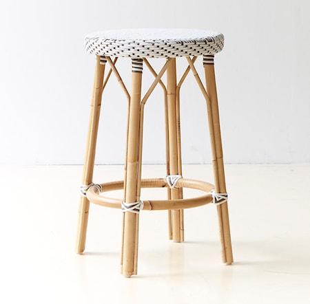 Sika Design Simone barstol - Låg, vit