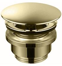 Universal bottenventil pop-up 74400 Honey gold