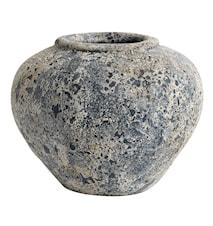 Luna Kruka Stone blue Terracotta 26x34 cm