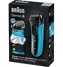 Braun Barberingsmaskin 3040s W&D