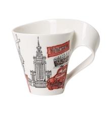 Cities of the World Mug Mugg 0,35l Warsawa