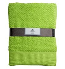 Handduk 100% Bomull Lime 140x70 cm