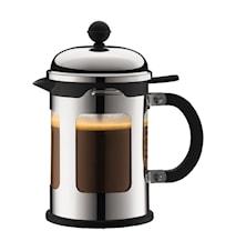 Chambord Kaffepresse 4 kopper 50 cl rustfritt stål