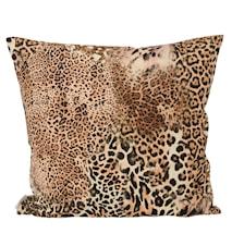 Safari Leopard Kuddfodral 43x43 cm