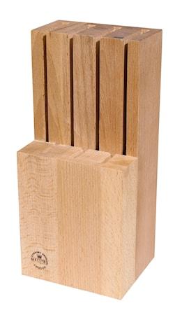 Stående knivblock, för 7 knivar