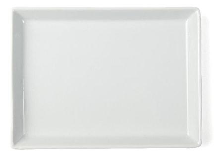 Tallrik flat Quadro 20x15cm