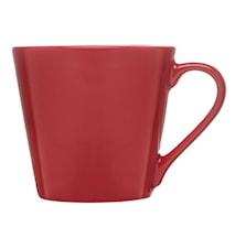 Brazil mugg, röd