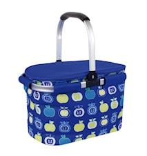 Cooler Basket Skörd, blå