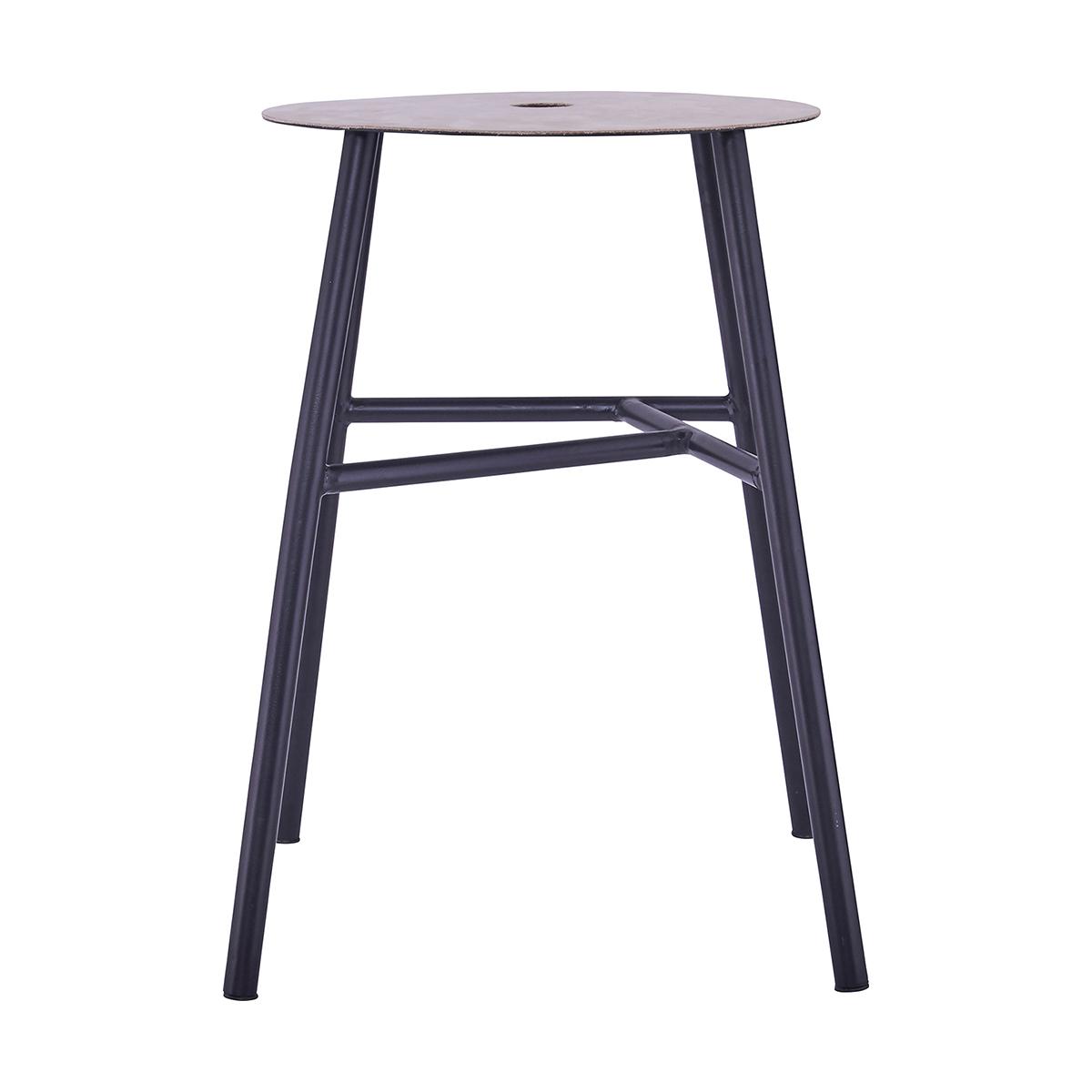 K-stool Pall Svart 35x48 cm