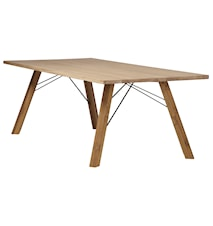 Straight TEAK Wooden table