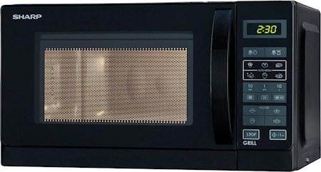 Mikrobølgeovn 20L sort,R642BKW