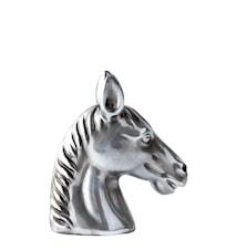 Figur Hästhuvud Silver 12,5 cm