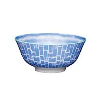 Skål Ø 15,7 cm - Blue swirl