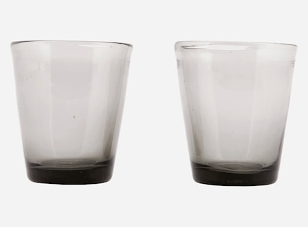 Glas Houston Grå Ø 8 Höjd 9 cm