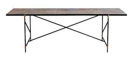 Dining table 230 cm mässing