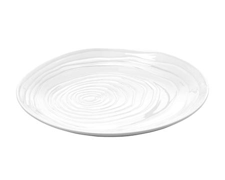 Boulogne tallrik flat vit, Ø 26,5 cm