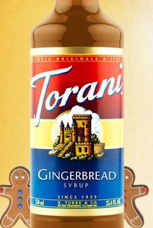 Torani Gingerbread Syrup 750 ml –