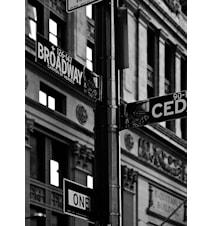 Broadway Sign Väggdekoration