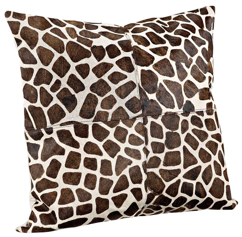 Giraffe Hair Kuddfodral + innerkudde