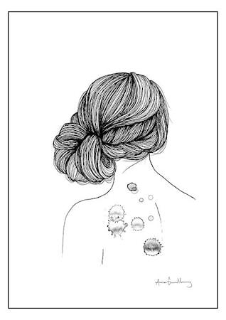 Bild av Anna Grundberg State of mind no. 4 poster