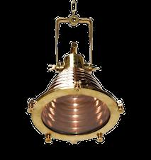 Algiers copper cargo taklampa