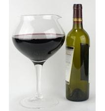 Carol- Glaskaraff formad som ett glas