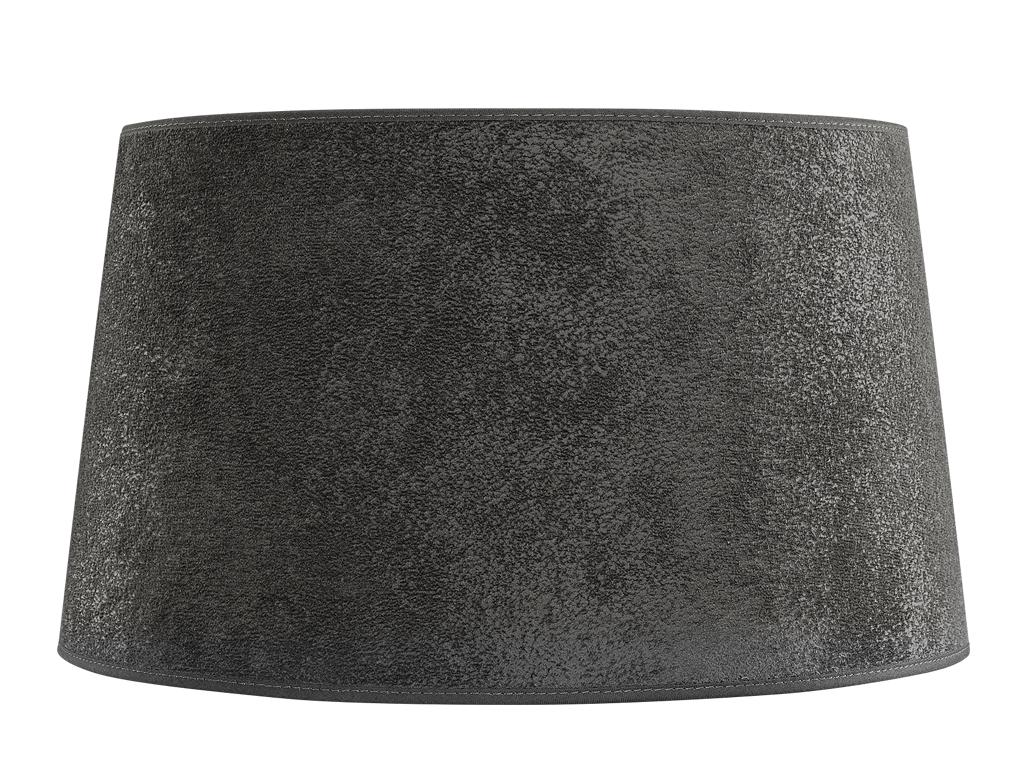 Lampskärm 50 cm Grå mocka