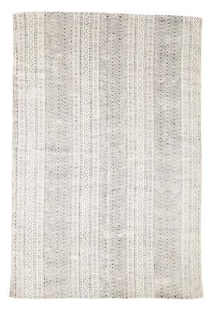 Hand woven cotton printed matta