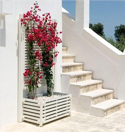 Oasi blomsterkasse – Hvid